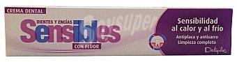 Deliplus Dentifrico pasta dientes sensibles Tubo 75 cc