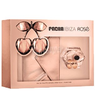 Pachá Ibiza Estuche Colonia Natural spray 50 ml. + Bling Case Ibiza Rose 1 ud