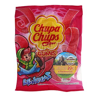 Chupa Chups Lenguas Bolsa 125 gramos