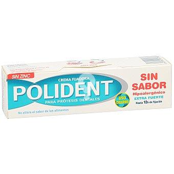 Crema adhesiva dentadura postiza sin zinc sin sabor