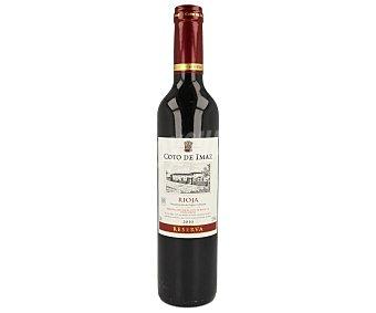 Coto de Imaz Vino tinto reserva con denominación de origen Rioja Botella de 50 cl