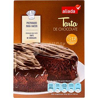 Aliada Preparado para hacer tarta de chocolate Estuche 350 g