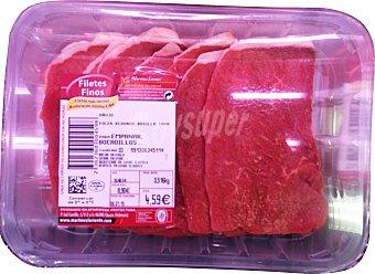 Martinez Loriente Ternera filete fino fresco Bandeja 500 g peso aprox.