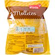 Molletes de pan precocidos envase 200 g 2 unidades de 100g  Aliada