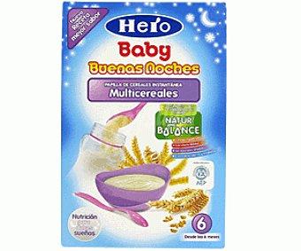 Hero Baby Papilla Buenas Noches Multicereales 600g