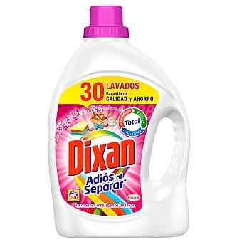 Dixan Detergente máquina líquido Adiós al Separar fórmula anti-transferecia de color botella 30 dosis