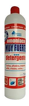 Bosque Verde Amoniaco muy fuerte con detergente Botella 750 ml