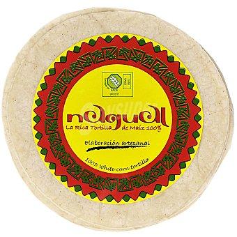 NAGUAL Tortillas de maíz artesanales sin gluten Envase 8 unidades
