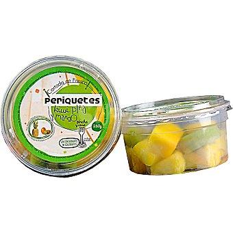 PERIQUETE Piña, kiwi y mango listo para tomar (contiene tenedor) Tarrina 250 g