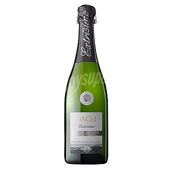 BACH Cava Brut Nature Botella 75 cl