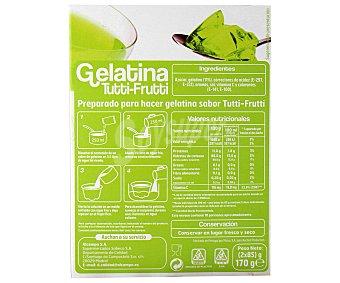 Auchan Gelatina sabor tutti-frutti 170 gr