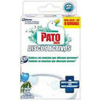Pato Limpia WC discos lejía 1 unidad