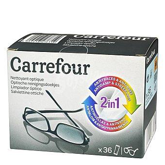 Carrefour Toallitas limpiagafas 36 ud