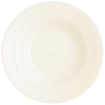 LUMINARC  Presidence Plato para pasta redondo de zenix en color blanco 1 Unidad