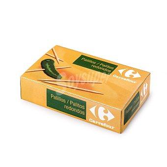 Carrefour Estuche palillos redondo 800 Ud