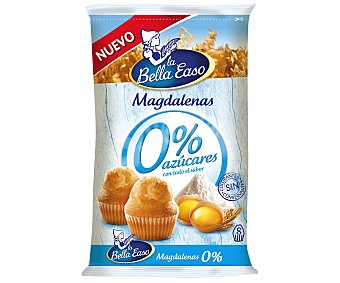 La Bella Easo Magdalenas 0% azúcar Paquete 233 g