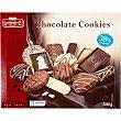 Cookies galletas surtidas con chocolate estuche 500 g Lambertz