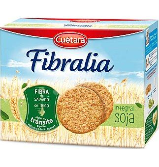 CUETARA FIBRA LINEA G. integral soja 600 G