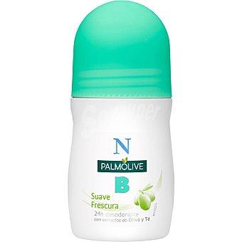 Palmolive Desodorante roll-on suave frescura con extractos de oliva y té Envase 50 ml