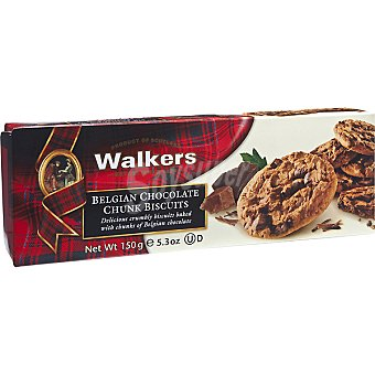WALKERS Choco Chunk Biscuits Paquete 150 g