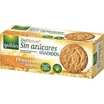 Diet Nature Gullon Digestive de avena galletas sin azúcar Caja 410 g