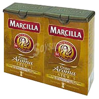 Marcilla Cafe molido natural 2 x 250 g