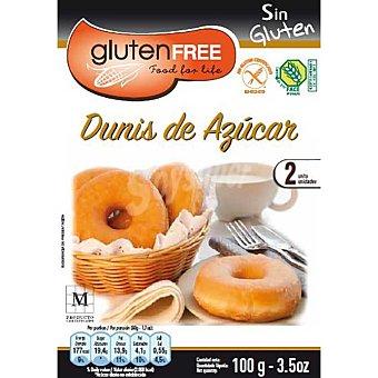 Glutenfree dunis de azúcar sin gluten 2 unidades Envase 100 g