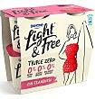 Yogur frambuesa 4 unidades Light & Free Danone
