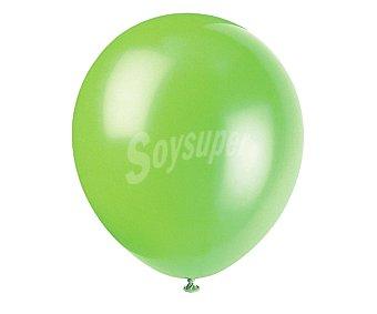 Partygram Globos de 30,5 centímetros de color verde lima 15 unidades