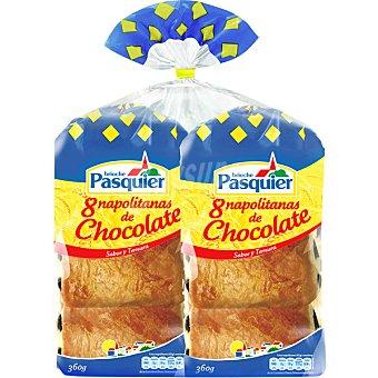 Pasquier Napolitanas de chocolate bolsa 720 g 16 unidades
