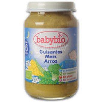 BABYBIO Potito de guisantes Buenas Noches 200 g