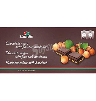 Condis Chocolate negro avellan 150 G