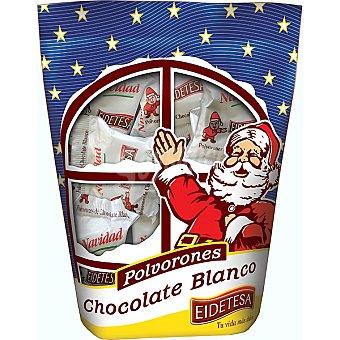 Eidetesa Polvorones de chocolate blanco Bolsa 400 g