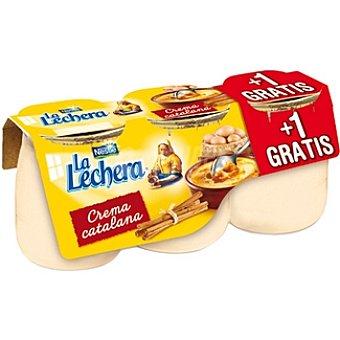 La Lechera Nestlé crema catalana envase 135 g + 1 gratis pack 2 unidades