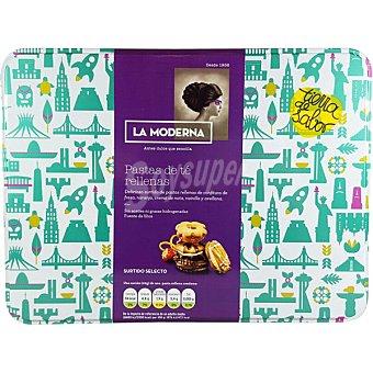 La Moderna surtido selecto de pastas de té rellenas lata 450 g