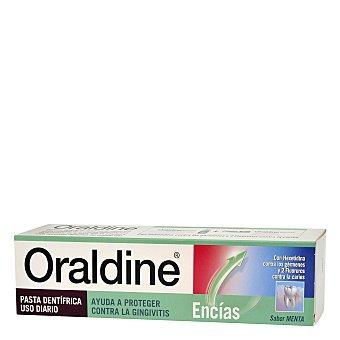 ORALDINE Dentífrico, cuidado para unas encías sanas sabor a menta, 125 Mililitros