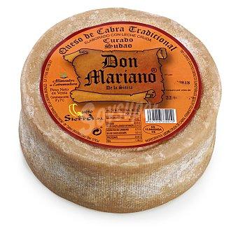 Queso curado sudao de cabra graso Don Mariano 950 g aprox