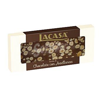 Lacasa Turron praline chocolate C/ avell Caja 250G