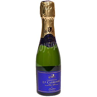 LE CARROSSE champagne brut tradition botella 37,50 cl