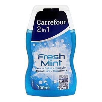 Carrefour Dentífrico y Elixir 2en1 Menthol 100 ml