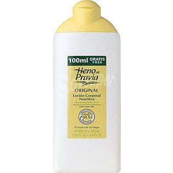 Heno de Pravia Leche corporal con extracto de planta de aloe Frasco 400 ml