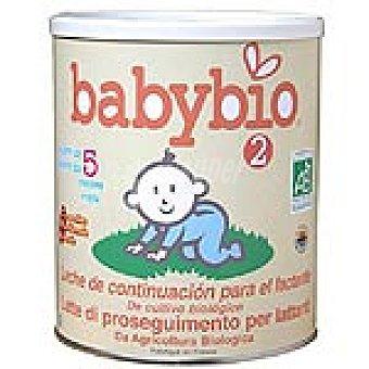 BABYBIO Leche de continuación 2 envase 900 g