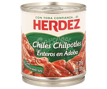 HERDEZ Chiles enteros en adobo 210 g