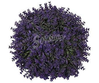 Essencial Bola de boj decorativo con flor de lavanda artificial hechas a base de plástico, 28 cm