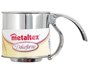 METALTEX Tamiz de 8 centímetros de diámetro para harina fabricado en acero inoxidable 1 unidad