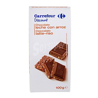 Carrefour Chocolate crujiente 100 g