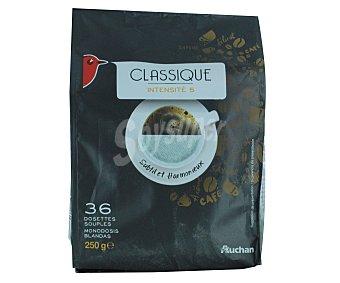 Auchan Café Monodosis Clásico 36u