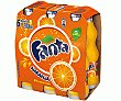 Refresco de naranja Pack 6x20 cl Fanta
