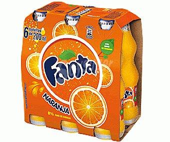 Fanta Refresco de naranja Pack 6x20 cl