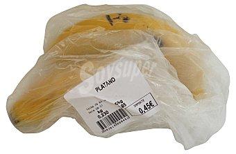 VARIOS Platano canario (venta por unidades) Unidad 150 gr